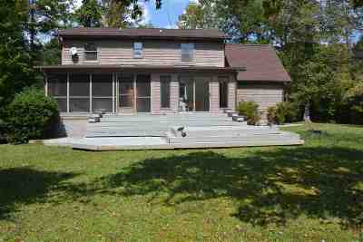 Chickasaw Point Single Family Home Contract-Take Back-Ups: 301 N Hogan Drive