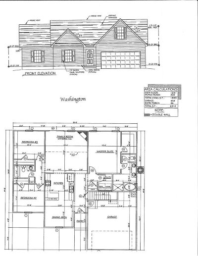 Marlynn Acres Single Family Home For Sale: Lot 52 Linmar Circle