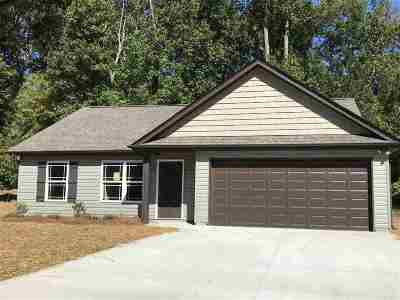 Anderson Single Family Home Contingency Contract: 137 Hawk Ridge Drive