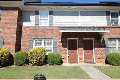 Clemson Condo Contract-Take Back-Ups: 209 Calhoun, #303