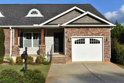 Anderson SC Townhouse For Sale: $169,000