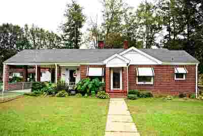 Anderson SC Single Family Home For Sale: $79,500