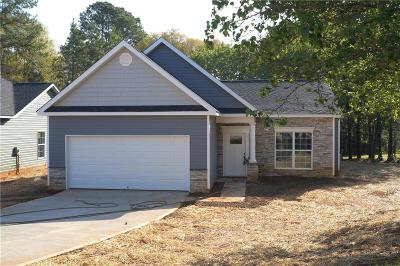 Anderson SC Single Family Home For Sale: $148,500