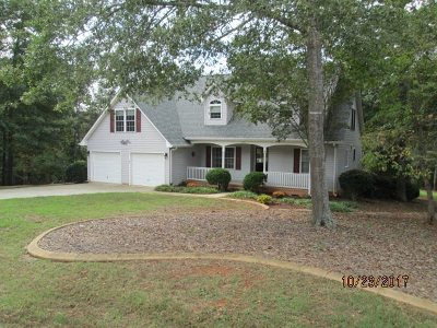 Anderson Single Family Home For Sale: 206 Woody Acres Drive