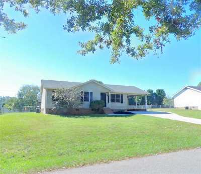Anderson SC Single Family Home Contract-Take Back-Ups: $122,900