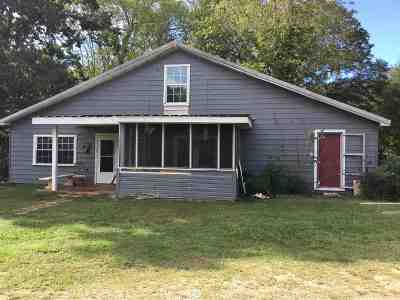 Belton Single Family Home Contract-Take Back-Ups: 180 Old Tabernacle Road