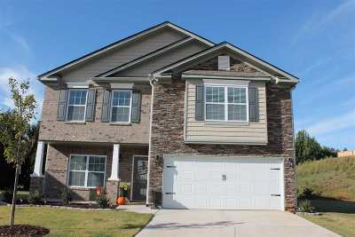 Anderson Single Family Home For Sale: 104 Vereen Ct
