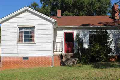 Single Family Home Contract-Take Back-Ups: 1328 Bleckley Street Ext.