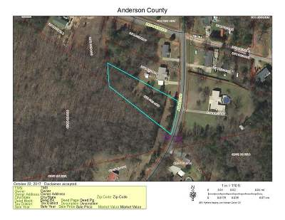 Athens, Anderson Residential Lots & Land For Sale: Lot 8 Arnold Rd