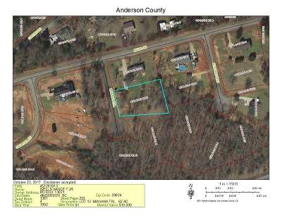Athens, Anderson Residential Lots & Land For Sale: Lot 13 Manana Trl