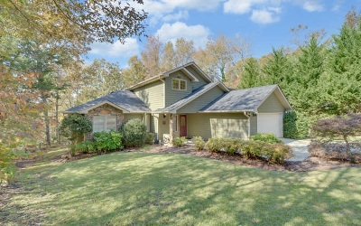 Single Family Home For Sale: 1495 Dobbs Landing