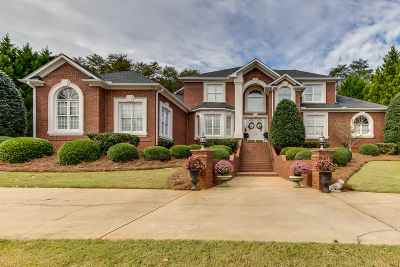 Spartanburg Single Family Home For Sale: 340 Hidden Creek Circle