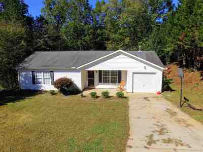 Liberty SC Single Family Home For Sale: $119,900