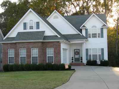 Anderson Single Family Home For Sale: 206 Streams Way