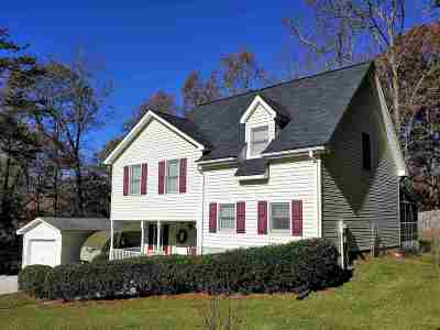Liberty SC Single Family Home For Sale: $167,000