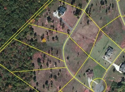 Anderson County, Pickens County, Oconee County Residential Lots & Land For Sale: Lot 20 Blue Mountain Estates