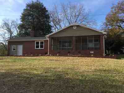 Anderson County Single Family Home For Sale: 1210 Mill St. Ext.