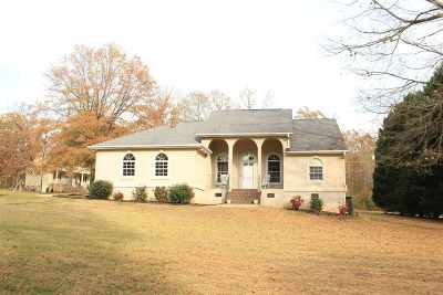 Anderson Single Family Home For Sale: 912 Meadow Lane