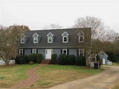 Anderson Single Family Home Under Contract: 122 Frances Cannon Dr