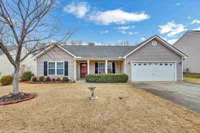 Easley Single Family Home For Sale: 228 Rivers Edge Drive