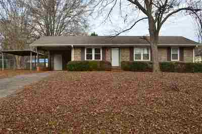 Anderson Single Family Home Contingency Contract: 301 Jasmin Drive