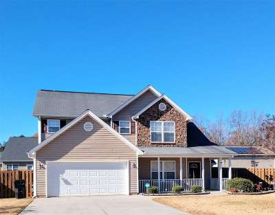 Anderson Single Family Home For Sale: 109 Belspring Lane