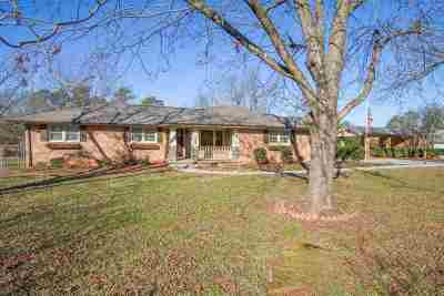 Anderson Single Family Home For Sale: 204 Juniper Ave