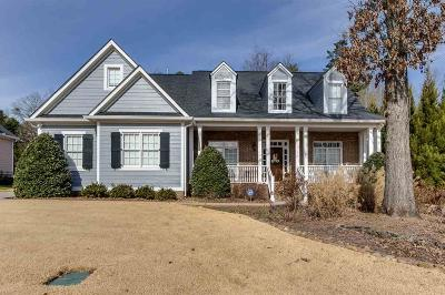 Single Family Home For Sale: 113 Cravens Creek Court