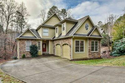 Keowee Key Single Family Home Contract-Take Back-Ups: 329 Long Reach Drive