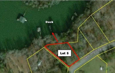 Townville Residential Lots & Land For Sale: Lot 5 Sandy Shores Circle