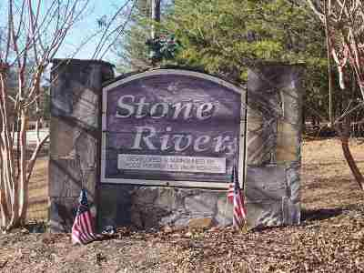 Residential Lots & Land For Sale: Tract 1-D Stone River Dr.