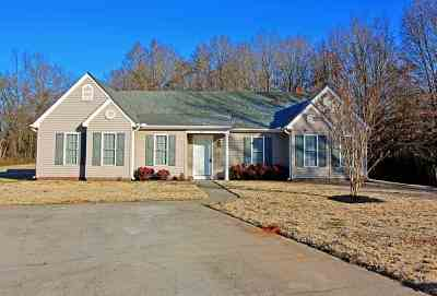Single Family Home Under Contract: 118 Elrod Place Road