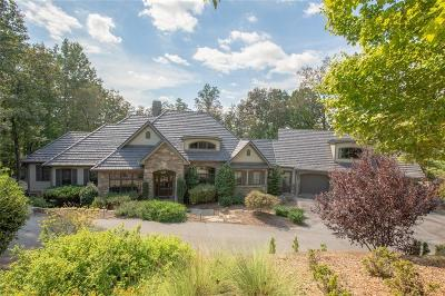 The Reserve At Lake Keowee Single Family Home Contract-Take Back-Ups: 302 Cool Water Way