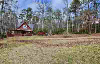 Single Family Home For Sale: 291 Lake Cheohee Road