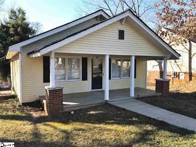 Pickens Single Family Home For Sale: 148 Hagood Street