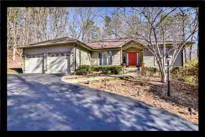 Keowee Key Single Family Home Contingency Contract: 3 First Mate Way