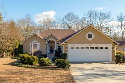 Anderson SC Single Family Home Under Contract: $389,000