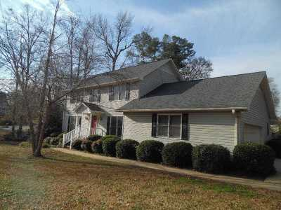 Anderson County Single Family Home Under Contract: 406 Tiffany Drive