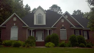 Athens, Anderson Single Family Home Contract-Take Back-Ups: 125 Wycombe