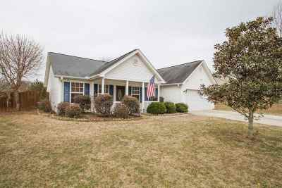 Williamston Single Family Home Contingency Contract: 114 Kensett Drive