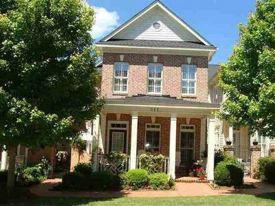 Clemson Townhouse For Sale: 212 Village Walk Lane