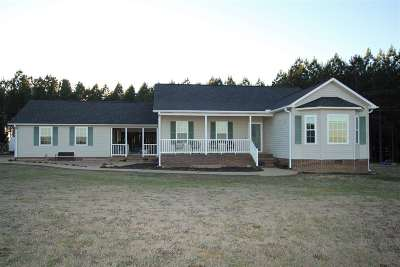 Single Family Home Contract-Take Back-Ups: 113 Stone Dr.