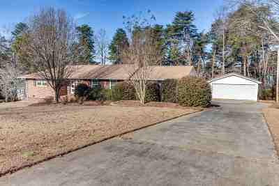 Anderson Single Family Home For Sale: 1111 Liberty Roe