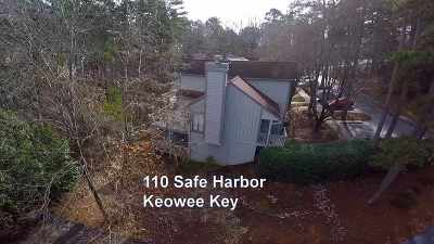 Keowee Key Townhouse For Sale: 110 Safe Harbor Circle