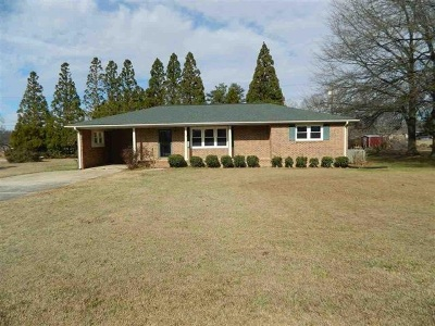 Belton Single Family Home Contingency Contract: 207 Woodfield Road