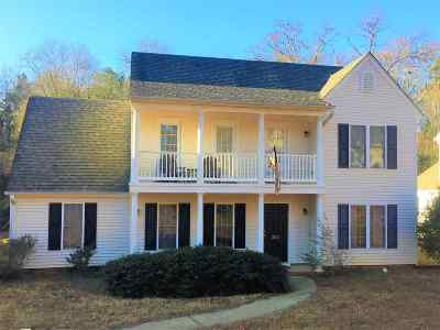 Clemson Single Family Home For Sale: 262 Rock Creek Rd.