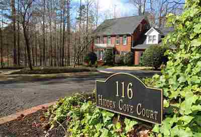 Seneca, Seneca/west Union Single Family Home For Sale: 116 Hidden Cove Court