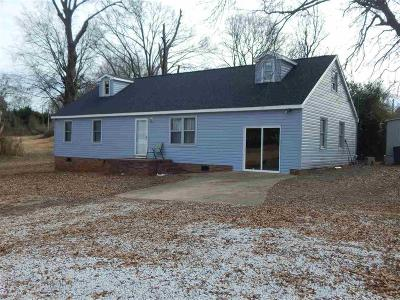 Anderson Single Family Home For Sale: 1339 Hwy 29s