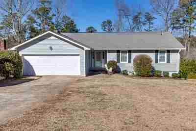 Anderson Single Family Home For Sale: 1152 Cartee Rd.