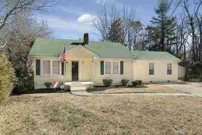Belton Single Family Home Contingency Contract: 328 Clinkscales
